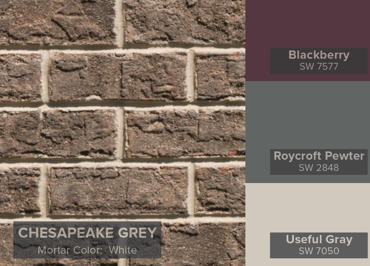 Color Of The Year Sherwin Williams Blog Triangle Brick