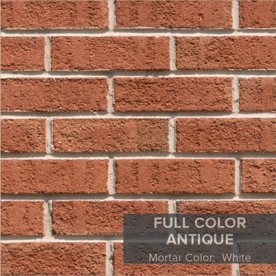 Full Color Antique Houses A Bod Orange Base Subtle Accents And Textured Finish Give This Brick Distinctive Contemporary Look