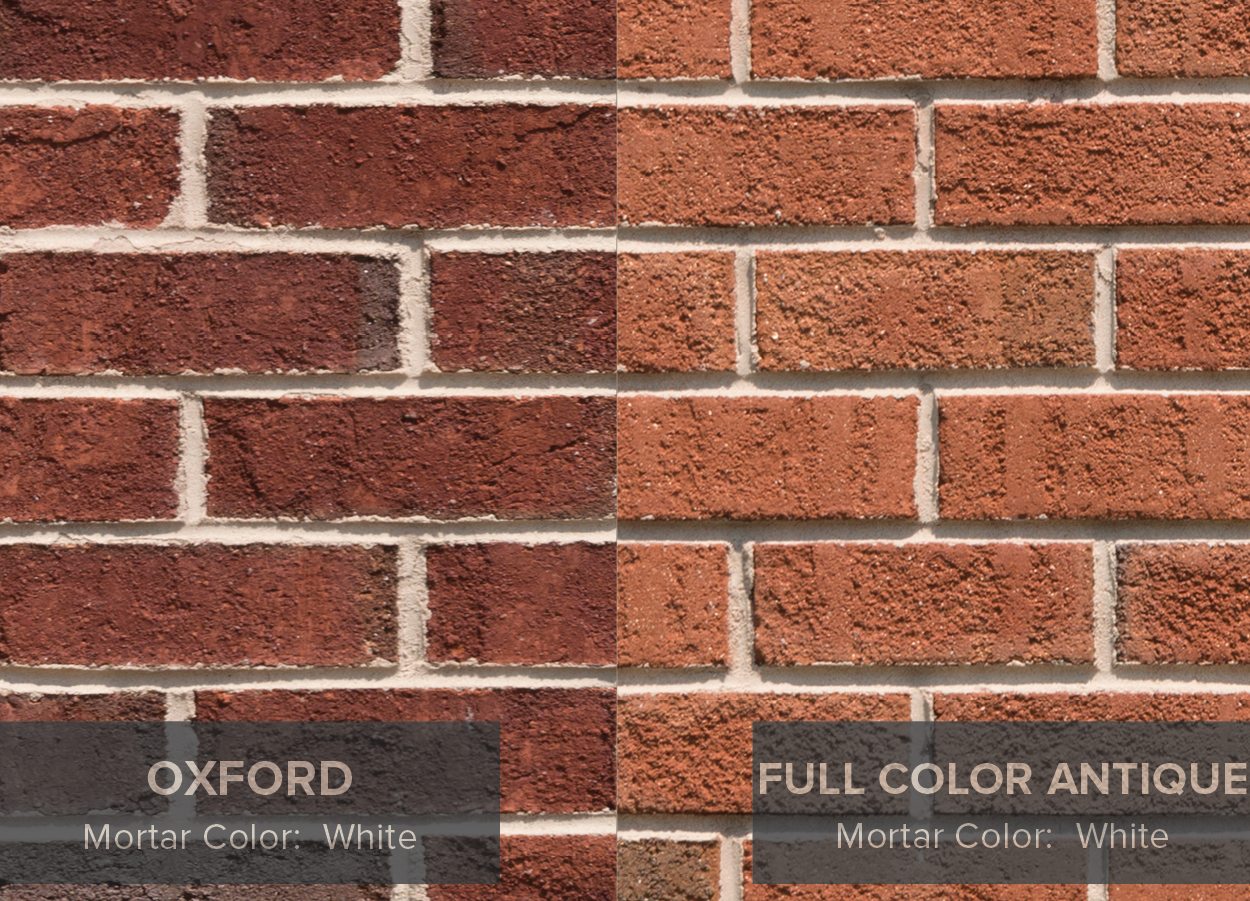 Brick colors for houses