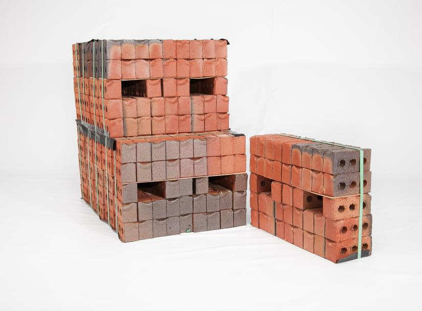 Pallets of Half Pack bricks