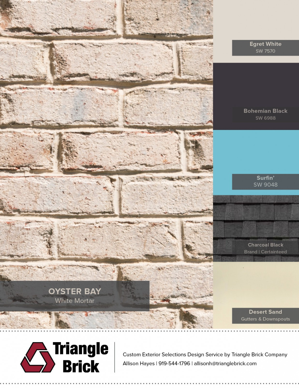 Sherwin Williams Color Of The Month Triangle Brick
